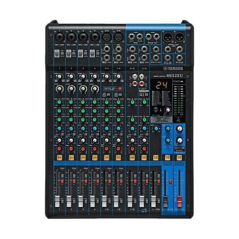 Audio Mixer Yamaha Mg 12 Xu jual yamaha mg 12xu mixer harga kualitas