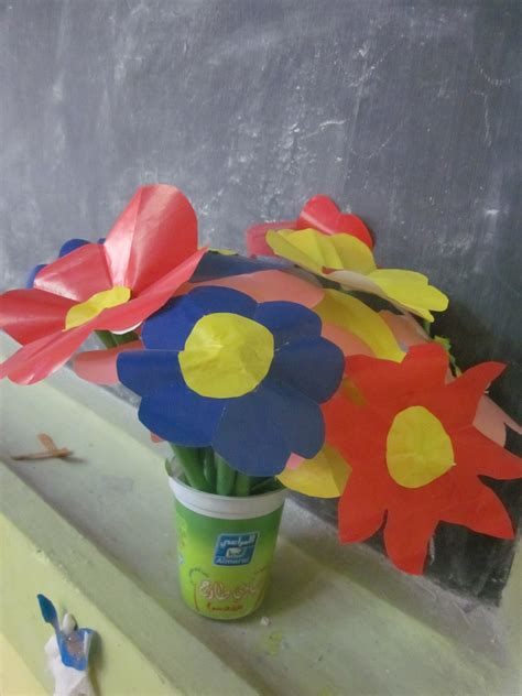 How To Make Glaze Paper Flowers - 301 moved permanently