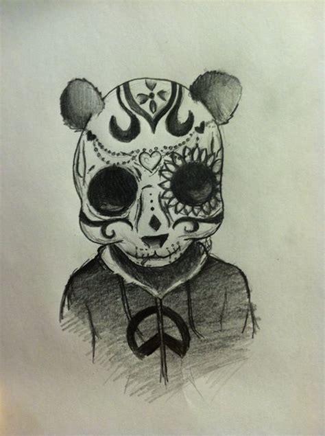 Sugar Skull Panda panda sugar skull by gloomeh on deviantart
