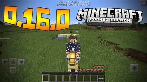 minecraft pocket edition apk 1 0 0 minecraft pocket edition alpha v0 16 0 mcpe 0 16 0 update date