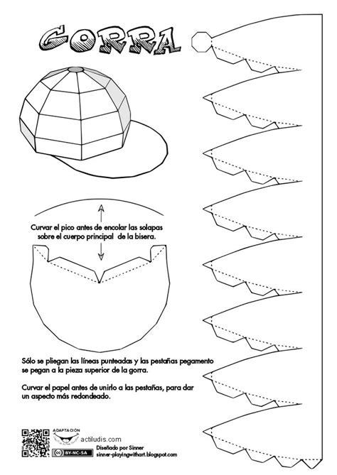 printable paper baseball cap template las 25 mejores ideas sobre trajes de gorra de b 233 isbol en