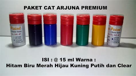 Jual Cat Sepatu Kanvas Surabaya produk cat arjuna