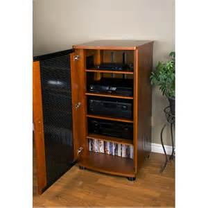 Audio Component Racks Plateau Lsx Series 5 Shelf Audio Component Stand Black
