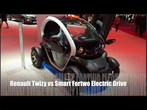 renault twizy vs smart fortwo renault twizy 2014 vs smart fortwo electric drive 2014