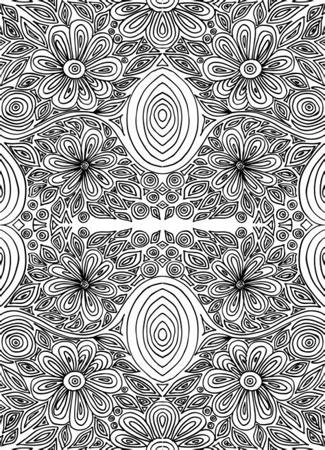 stress less coloring book 30 intricate detail page mandalas for coloring in for relaxation and stress relief books doodle coloring page intricate flowers 2