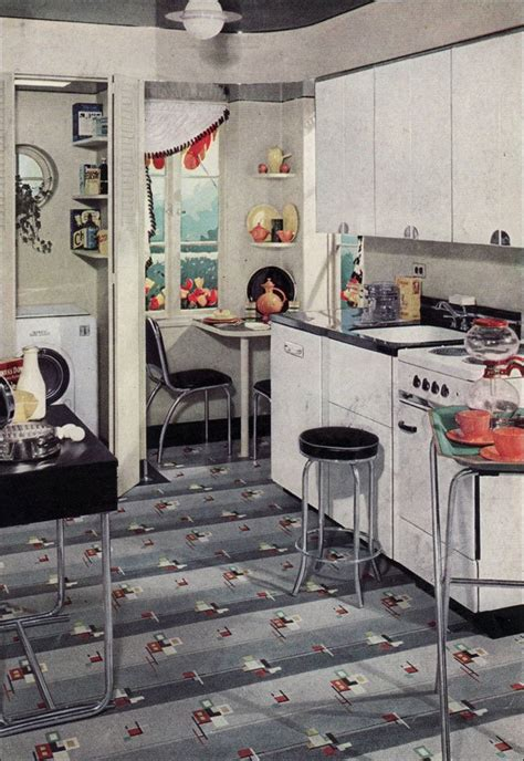 1938 kitchen ad for armstrong linoleum in black 1938 kitchen ad for armstrong linoleum in black white 1930s vintage kitchen interiors
