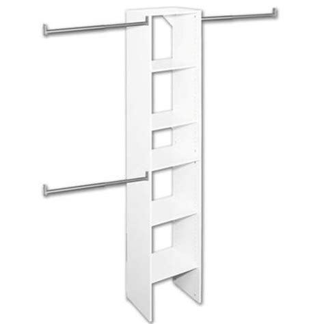 Closetmaid 16 Inch Closetmaid T3 Selectives 16 Inch Starter Tower