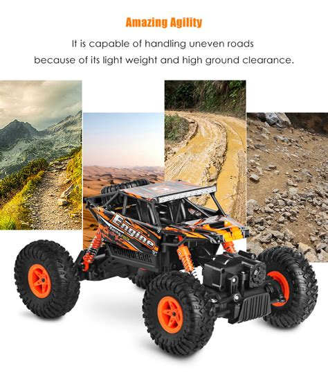 Rc Car Rock Climber Wltoys 18428 B 4wd Propotional wltoys 18428 b 1 18 4wd rc climbing car rtr 9km h 2 4ghz 4ch proportional controlled all