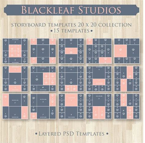 instant download storyboard photoshop templates by 35 best storyboards images on pinterest storyboard