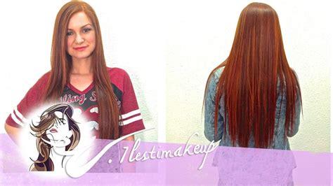 como hacer mechas color cobres en cabellos teidos de cambio de color en cabello con mechas hairstyle youtube