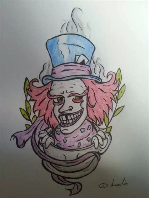 mad hatter tattoo designs design wallpaper