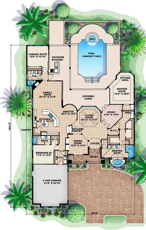 mediterranean style floor plans chelsea mediterranean house plan alp 088l chatham design house plans
