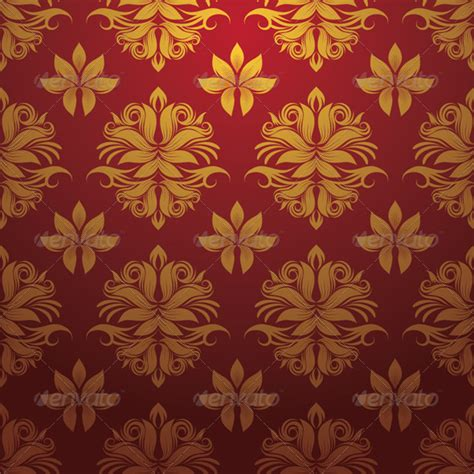 gold red pattern gold and red pattern graphicriver