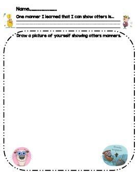 Do Unto Otters Activity Worksheet Activities And Worksheets
