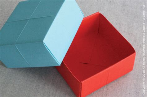 Make Paper Box - a hut zapata how to make a paper gift box