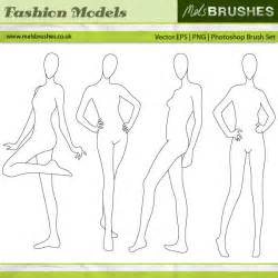 blank model sketch template drawing fashion models fashion