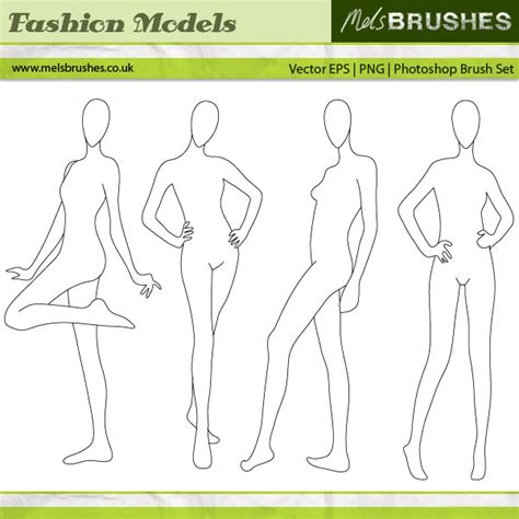 blank model sketch template the gallery for gt blank fashion sketch templates