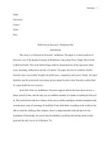 apa style reflection paper format how to write a
