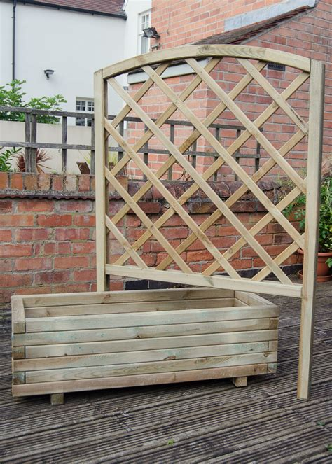 Trellis Planter by Review Giveaway Gardensite Forest Toulouse Trellis Planter Growing Family