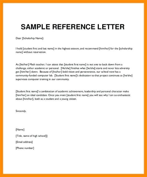 Sle Character Reference Letter For Youth character letter for nephew character letter for judge character reference letter exle