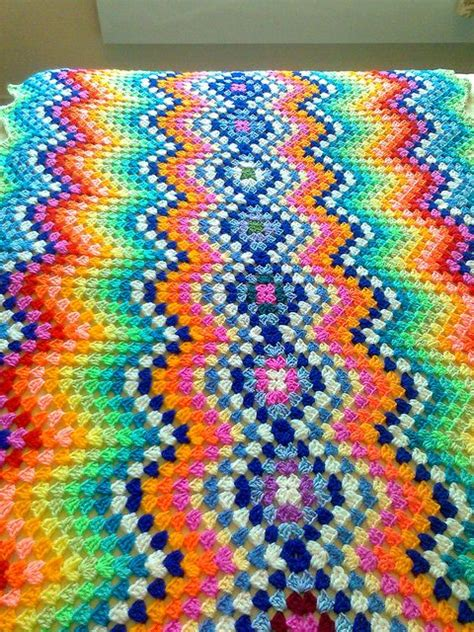 granny zig zag crochet pattern 1000 images about crochet granny ripple afghans on