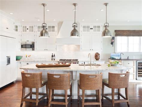 Countertop Stools Kitchen White Granite Countertops Cottage Kitchen Richard Bubnowski Design