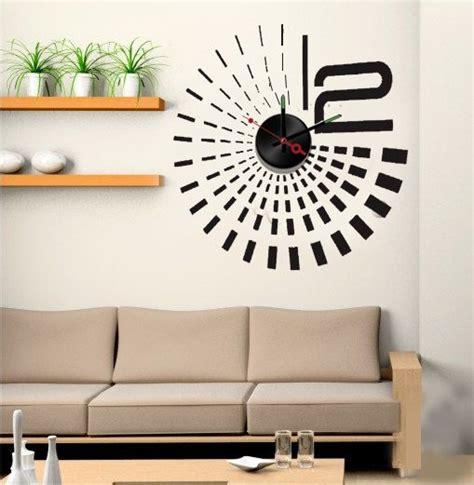 Wandsticker Aliexpress by Muursticker Klok Design Zwart Muurstickers Zo
