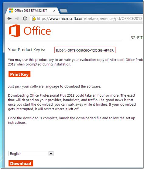Get Office How To Get Microsoft Office 2013 Trial Product Key From