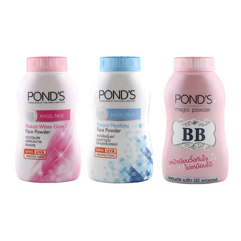 Ponds Bb Magic Powder Original From Thailand Ponds Bedak Original thailand s ponder s magic powder pond s bb powder powder powder concealer powder