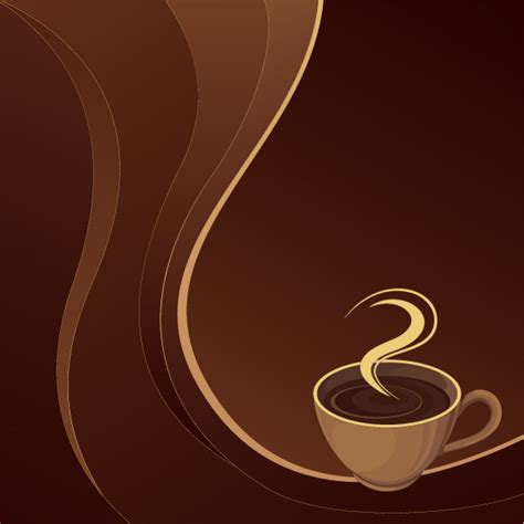 wallpaper coffee vector coffee theme vector free vector 4vector
