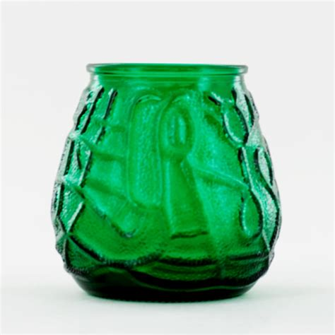 Green Candle Holders Green Glass Candle Holder