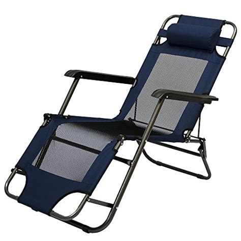 chaise longue pliable pour cing et jardin transat