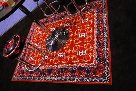 Oriental Drum Rug by The Weekend Woodshed Meinl Drum Rug Drum News Musicradar