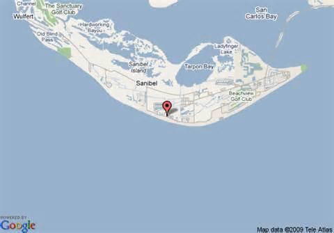 map of sanibel sunset resort sanibel