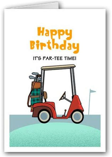 free printable golf greeting cards 120 best birthday quotes images on pinterest birthdays