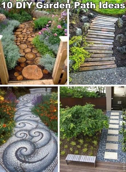 diy backyard garden 10 unique and creative diy garden path ideas diy cozy home