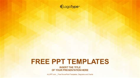 powerpoint templates free orange orange abstraction design powerpoint templates