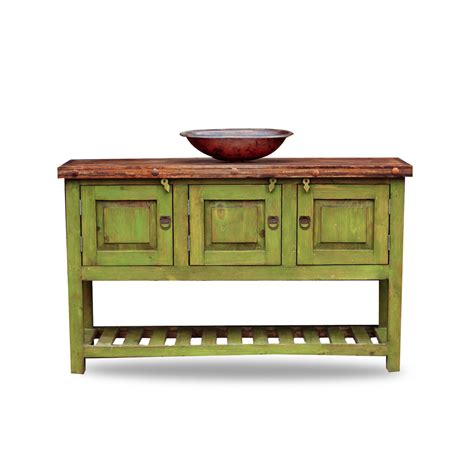 green vanity bathroom order gringo green bathroom vanity with a contrasting copper sink online
