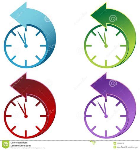 clip on daylight l daylight savings clock stock photos image 14438213