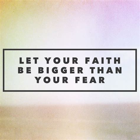let your faith be bigger than your fear tattoo let your faith be bigger than your fear for busy