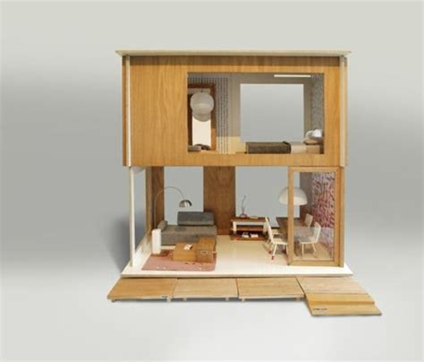 modern doll house design in poland modern dollhouse by minjio oh yes i want one of these kiddie