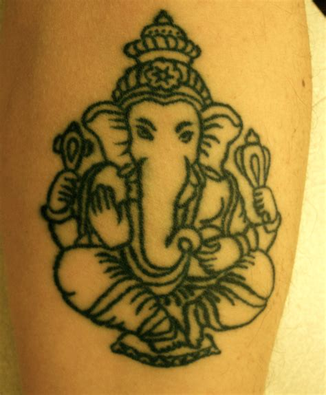 ganesh tattoos designs ganesh by louiscypher on deviantart
