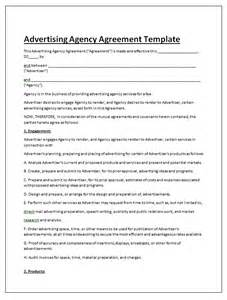 Advertising Contract Letter Sle Free Contract Templates Word Pdf Agreements Part 6