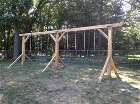 home built swing set renovations outdoor and specialty projects