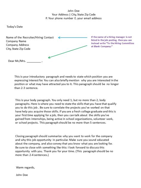 how to format a cover letter cover letter format whitneyport daily