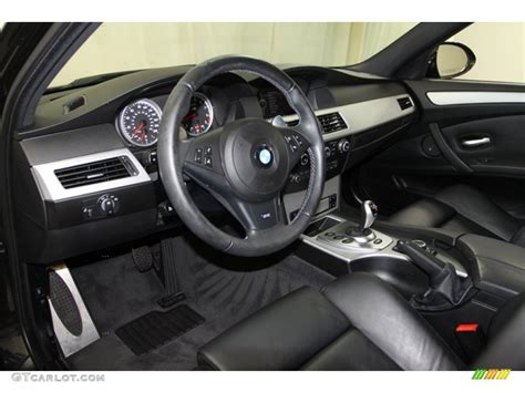 M5 Interior by Black Merino Leather Interior 2010 Bmw M5 Standard M5