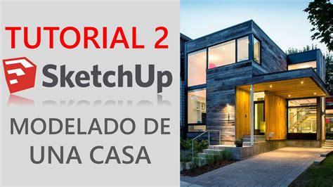 sketchup 2016 tutorial youtube tutorial 2 sketchup 2016 modelado de casa moderna youtube