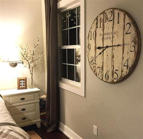 large distressed wall clock for inspiration wall clocks