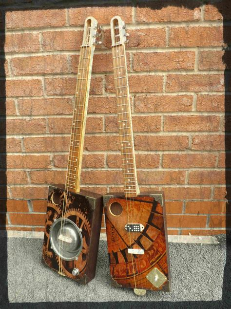 cigar box guitar page john anthony guitars luthiers plans