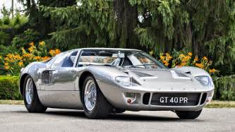 Ford Gt40 Price Top 5 Sales At Mecum Auctions Monterey Car Week 2016
